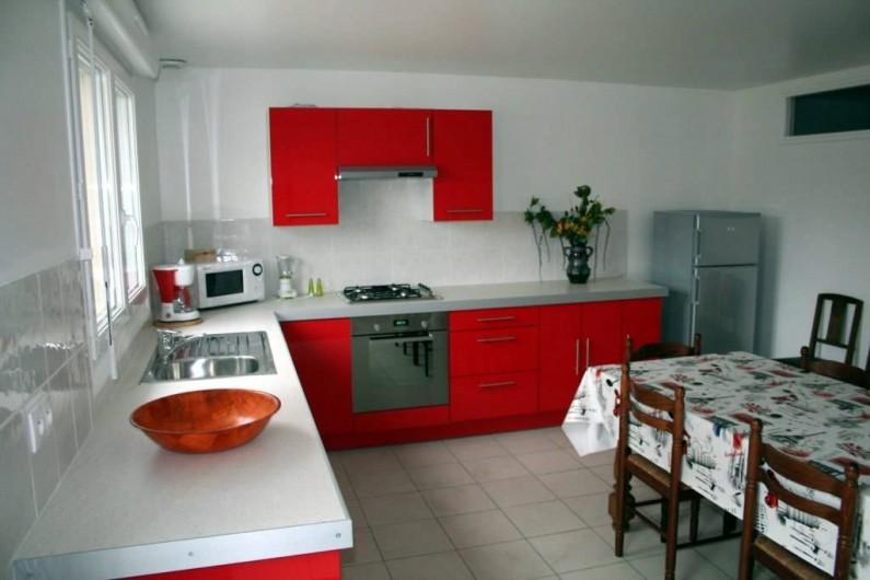 Location de vacances - Maison - Villa à Wissant - Grande cuisine ouverte