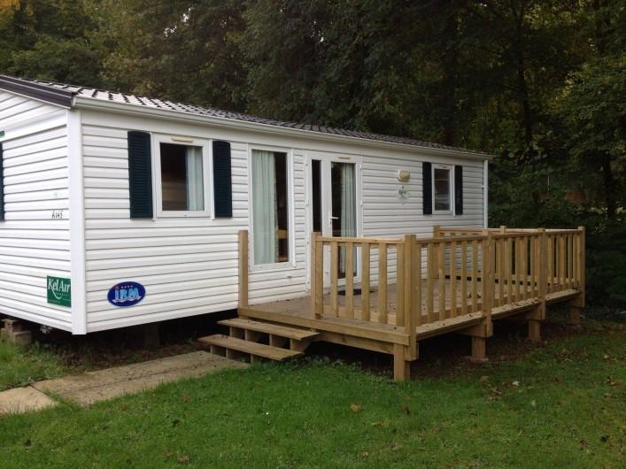 Location de vacances - Camping à Warlincourt-lès-Pas - Un mobil home de location