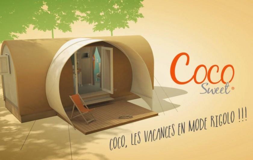 Location de vacances - Camping à Warlincourt-lès-Pas - Coco Sweet