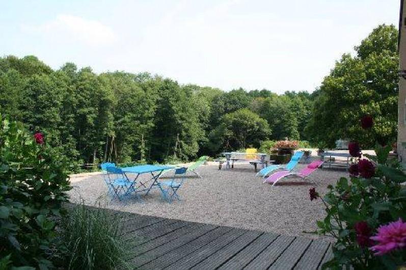 Location de vacances - Chambre d'hôtes à Le Clerjus - Terrasse