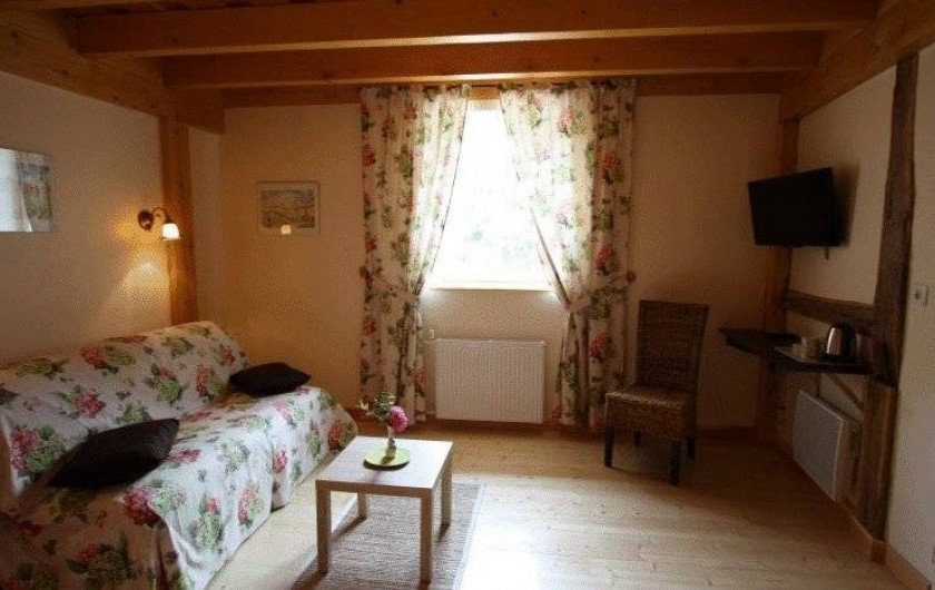 """Location de vacances - Chambre d'hôtes à Le Clerjus - Chambre """"Printanière"""""""