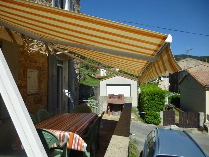 Location de vacances - Appartement à Bessèges - La Terrasse
