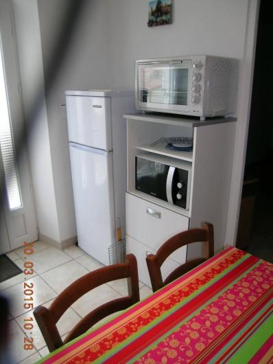 Location de vacances - Appartement à Bessèges - Cuisine