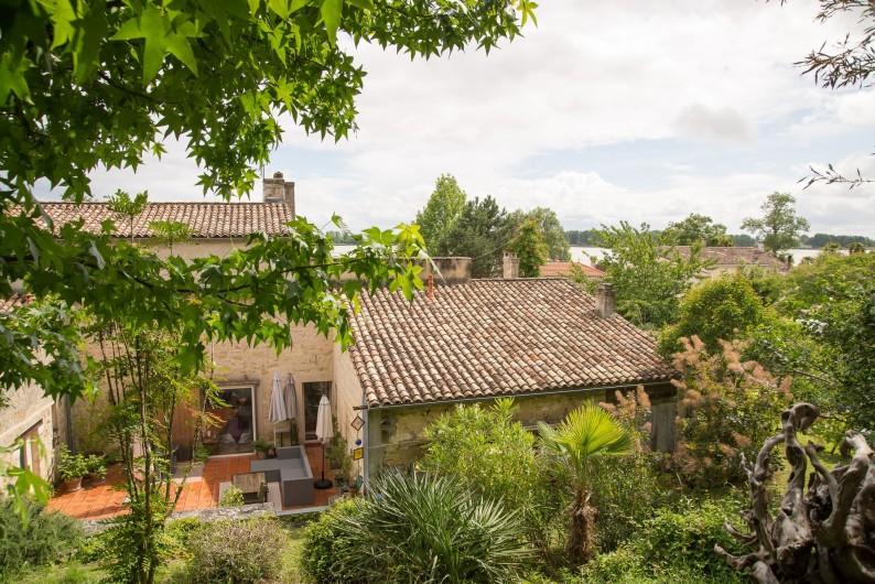 Location de vacances - Gîte à Bourg sur Gironde - vue e la foret