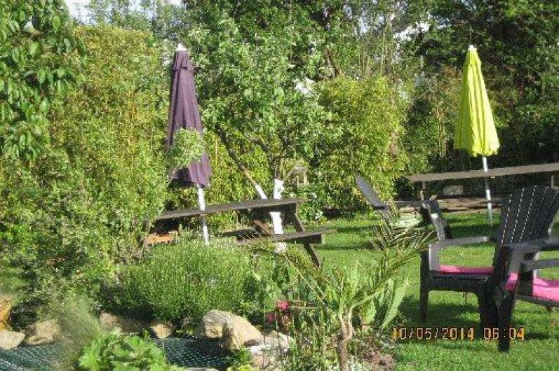Location de vacances - Chambre d'hôtes à Larmor-Baden - JARDIN