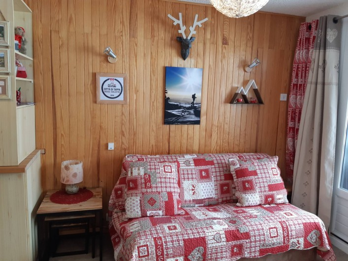 Location de vacances - Appartement à Risoul - Séjour