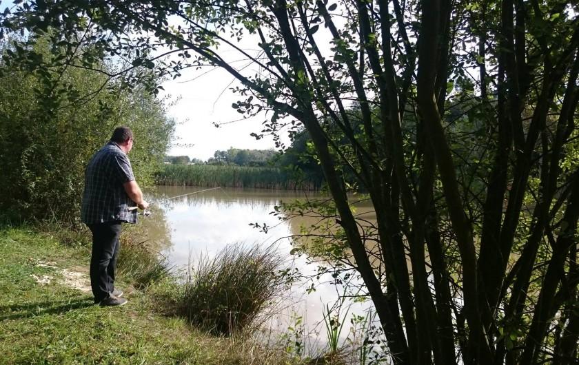Location de vacances - Insolite à La Chapelle-Blanche-Saint-Martin - L'étang