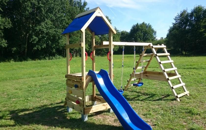 Location de vacances - Insolite à La Chapelle-Blanche-Saint-Martin - Jeux pour enfants
