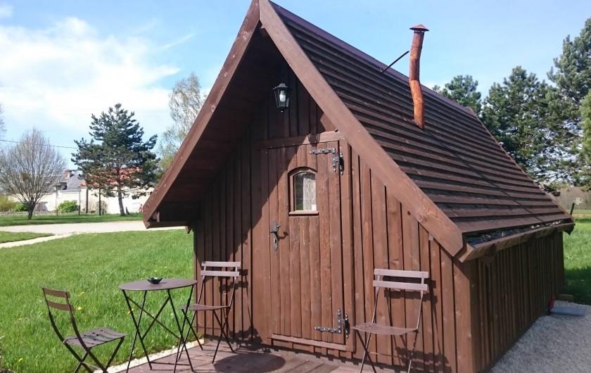 Location de vacances - Insolite à La Chapelle-Blanche-Saint-Martin - Cabane Tröll pour 2 personnes (possibilité 1 jeune enfant en plus)