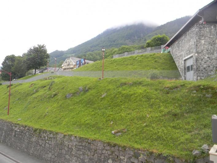 Location de vacances - Studio à Cauterets - vue du balcon
