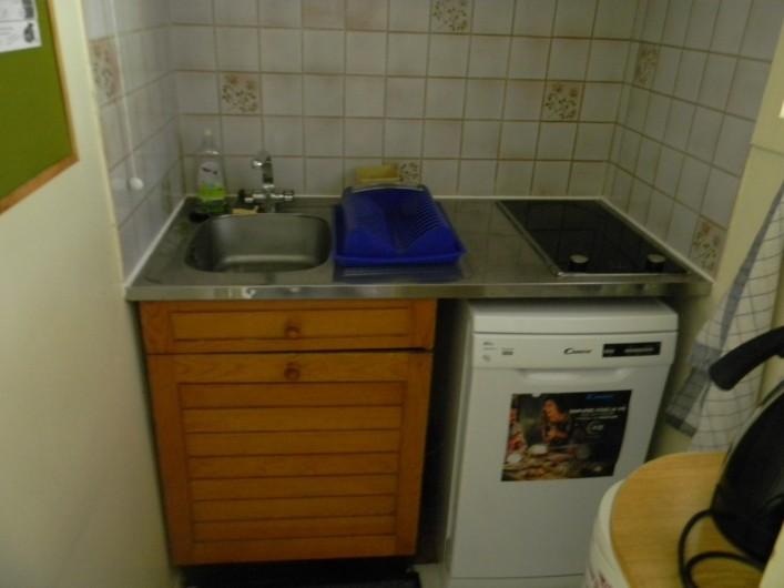 Location de vacances - Studio à Cauterets - coin cuisine