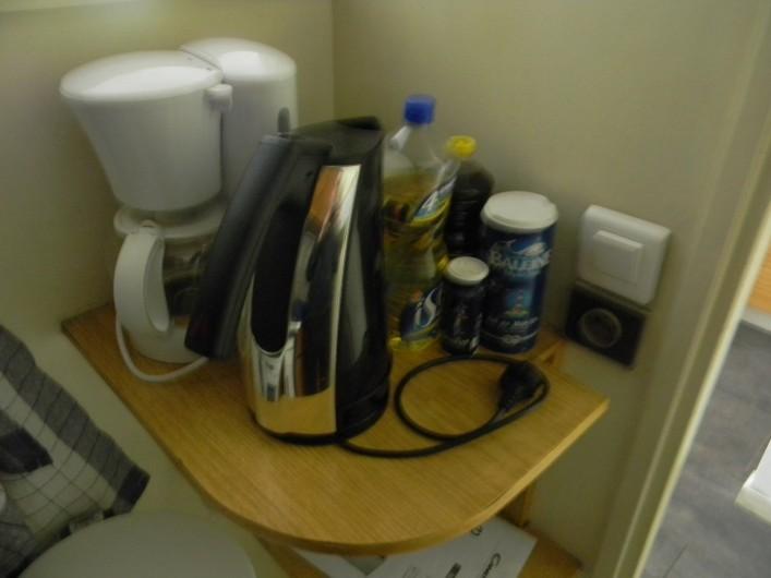 Location de vacances - Studio à Cauterets - machine a café et bouilloire
