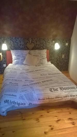 Location de vacances - Chambre d'hôtes à Marmoutier - Chambre Gutenberg lit double