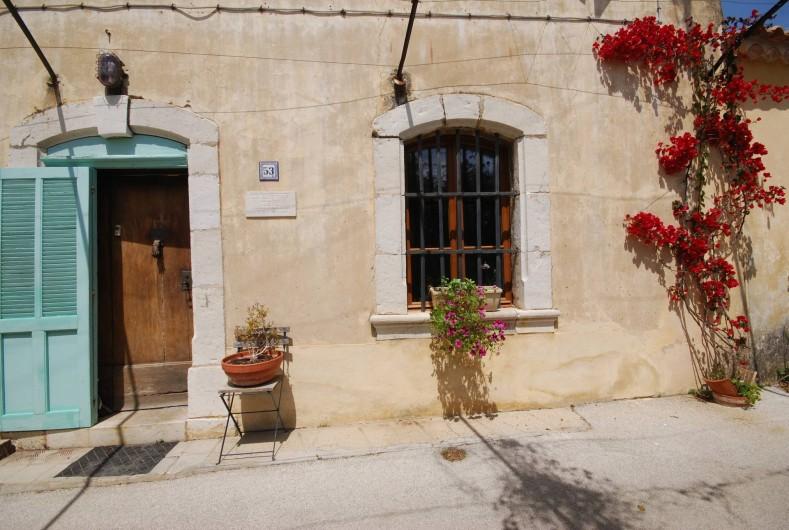 Location de vacances - Appartement à Six-Fours-les-Plages - façade de la Bastide