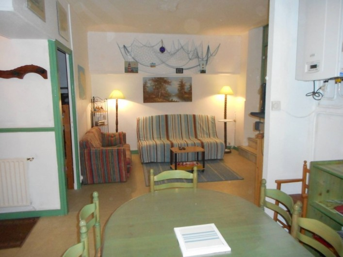 Location de vacances - Appartement à Saint-Malo - Coin salon