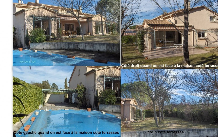 Location de vacances - Villa à Saint-Hilaire-de-Brethmas