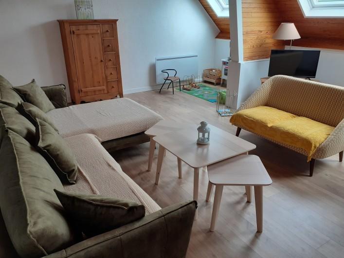 Location de vacances - Appartement à Chastreix - CHAMBRE AVEC 2 GRANDS LITS