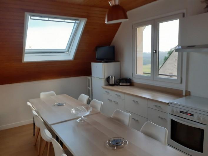 Location de vacances - Appartement à Chastreix - CHAMBRE AVEC LIT SUPERPOSE