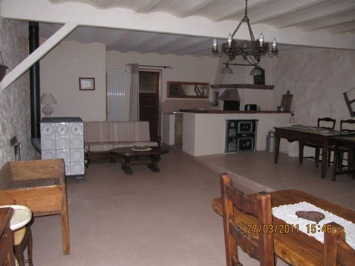 Location de vacances - Chambre d'hôtes à Saint-Julien-en-Vercors - Le Salon 1