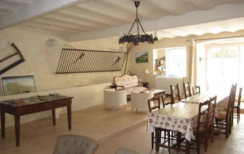Location de vacances - Chambre d'hôtes à Saint-Julien-en-Vercors - Le Salon 3