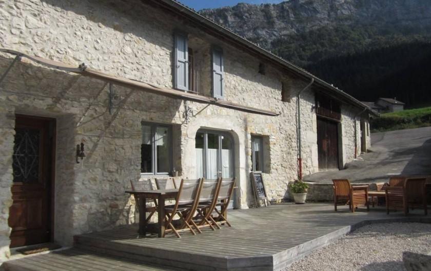 Location de vacances - Chambre d'hôtes à Saint-Julien-en-Vercors - L'Eté.