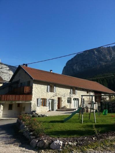 Location de vacances - Chambre d'hôtes à Saint-Julien-en-Vercors - Au Printemps