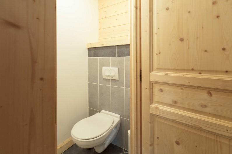 Location de vacances - Chalet à Montgenèvre - Toilette séparée
