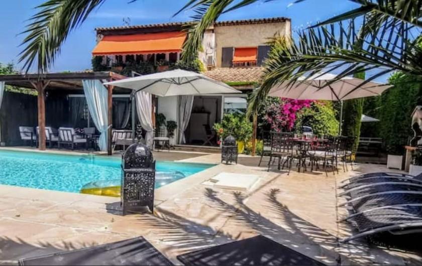 Location de vacances - Villa à Le Cannet - ENSEMBLE DE LA VILLA