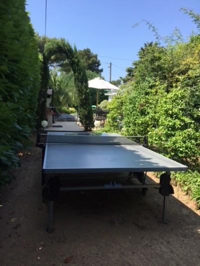 Location de vacances - Villa à Le Cannet - TABLE DE PING PONG