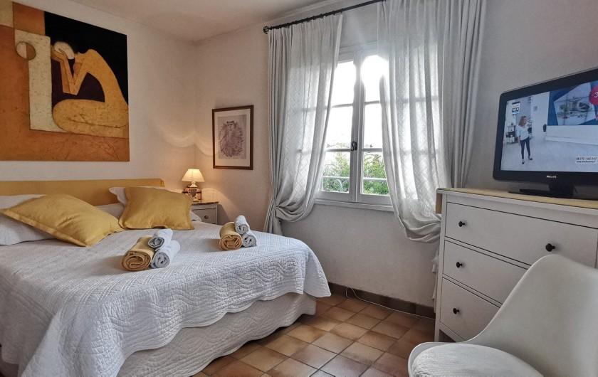 Location de vacances - Villa à Le Cannet - CHAMBRE JAUNE LIT de 160 LITS  superposés