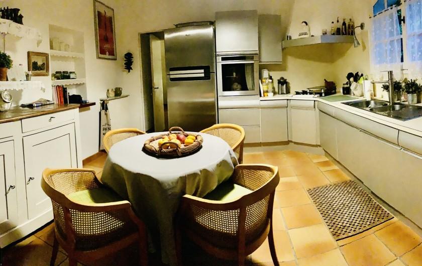 Location de vacances - Villa à Le Cannet - CUISINE