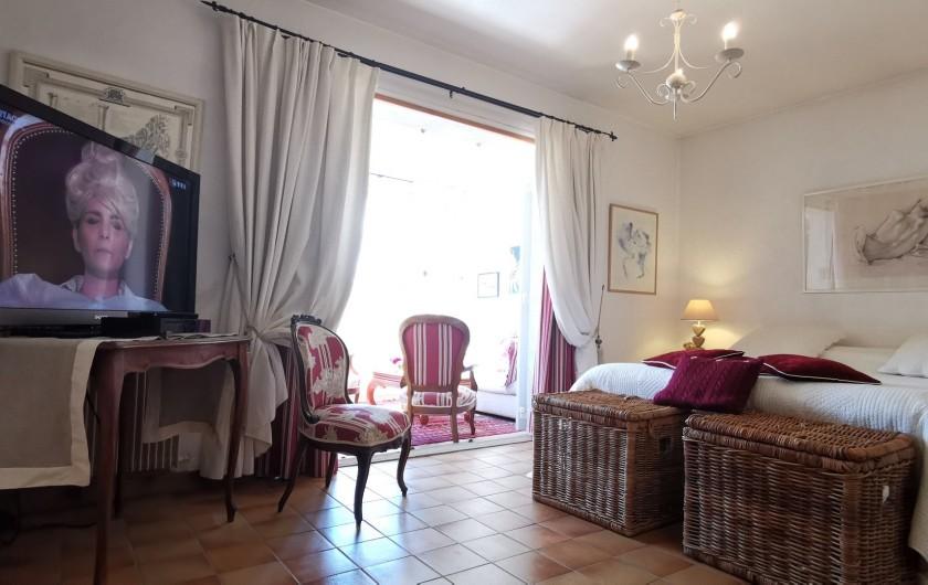 Location de vacances - Villa à Le Cannet - CHAMBRE DE MAITRE