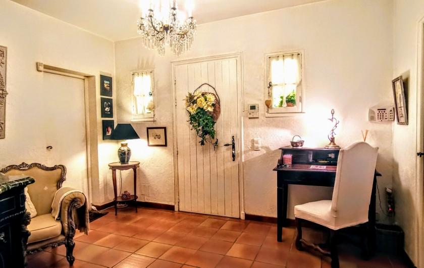 Location de vacances - Villa à Le Cannet - HALL D 'ENTREE