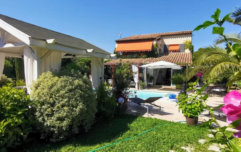 Location de vacances - Villa à Le Cannet - JARDIN