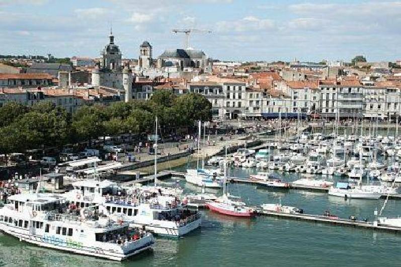 Location de vacances - Appartement à La Rochelle - Vieux port à 200m de l'appartement