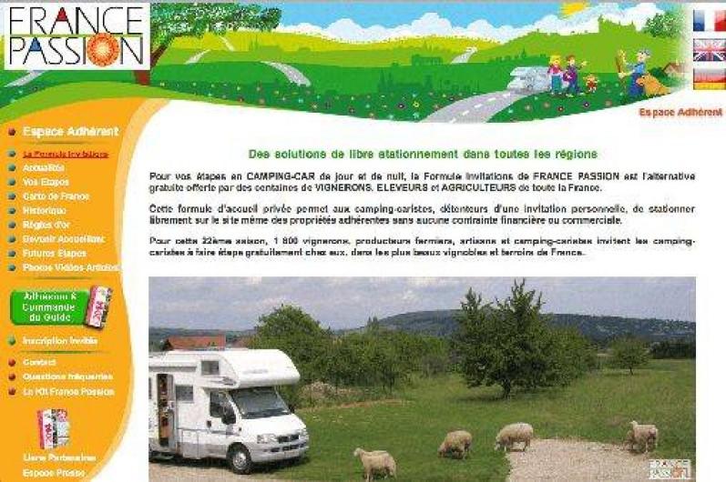 Location de vacances - Camping-car à Trois-Monts