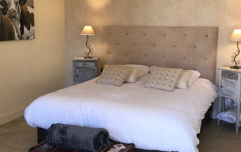 """Location de vacances - Chambre d'hôtes à Cheverny - Chambre """" l'étable"""""""