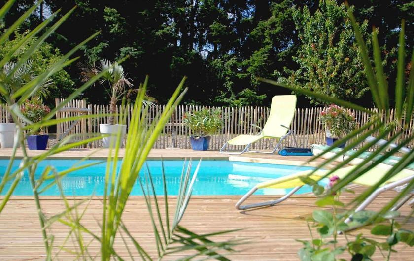 Location de vacances - Chambre d'hôtes à Cheverny - Piscine chauffée