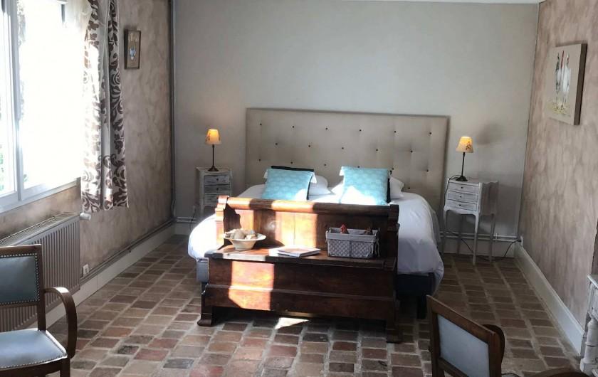 """Location de vacances - Chambre d'hôtes à Cheverny - Chambre """"le poulailler"""""""