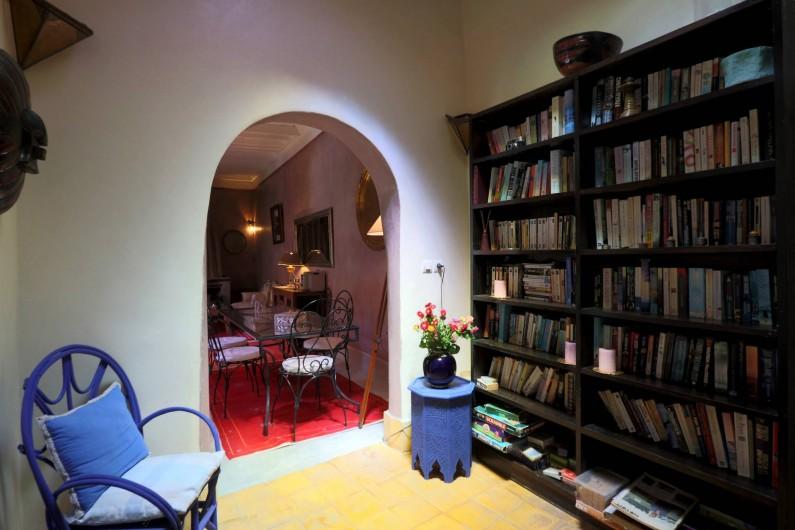 Location de vacances - Riad à Marrakech - Library