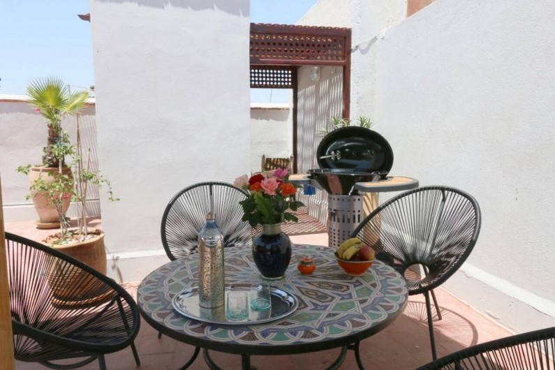 Location de vacances - Riad à Marrakech - Stop on the Rooftop