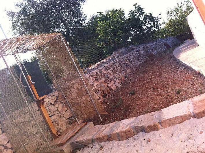 Location de vacances - Mas à Ceglie Messapica - Douche a l'exterior