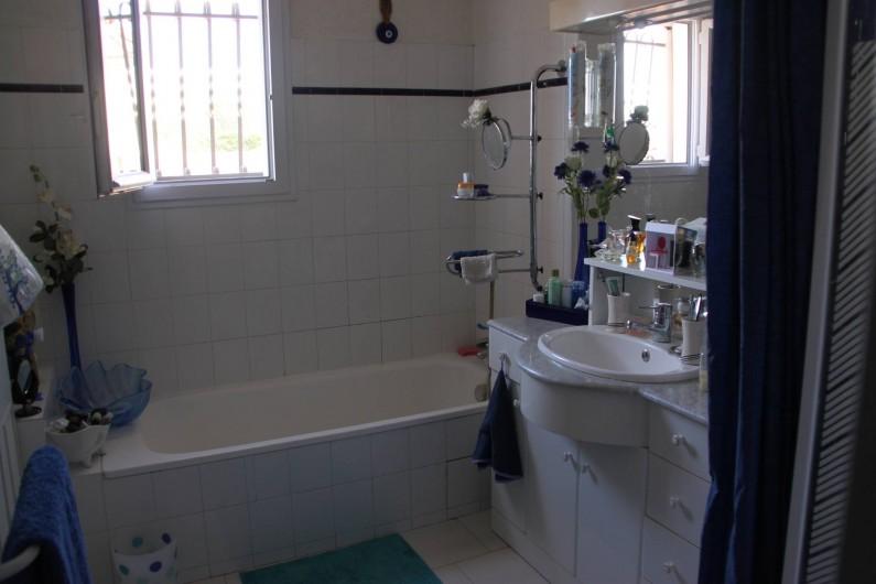 Location de vacances - Villa à Monteux - salle de bain douche baignoire