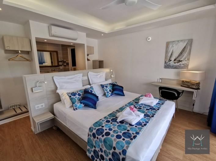 Location de vacances - Villa à Sainte-Anne - Suite 2 lit 180 x 200