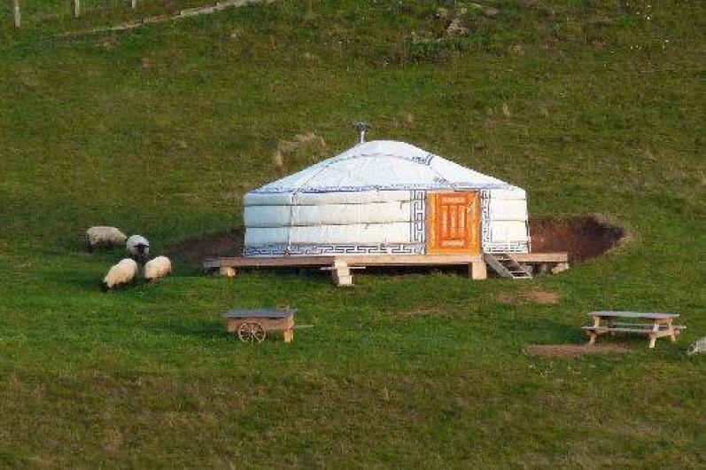 Location de vacances - Yourte à Donzy-le-National