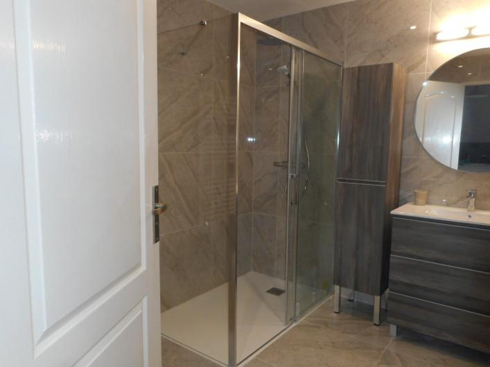 Location de vacances - Villa à Roquebrune-sur-Argens - Chambre N°5 ou 2ème salon Canapé BZ de 160 (log N°2) TV - Climatisation)