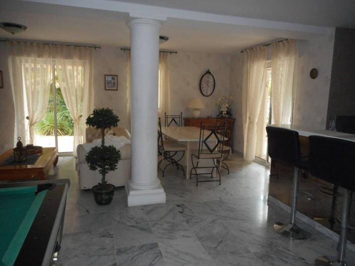 Location de vacances - Villa à Roquebrune-sur-Argens - Coin salle à manger