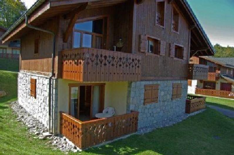 Location de vacances - Appartement à Les Carroz d'Arâches - Rez de chaussée