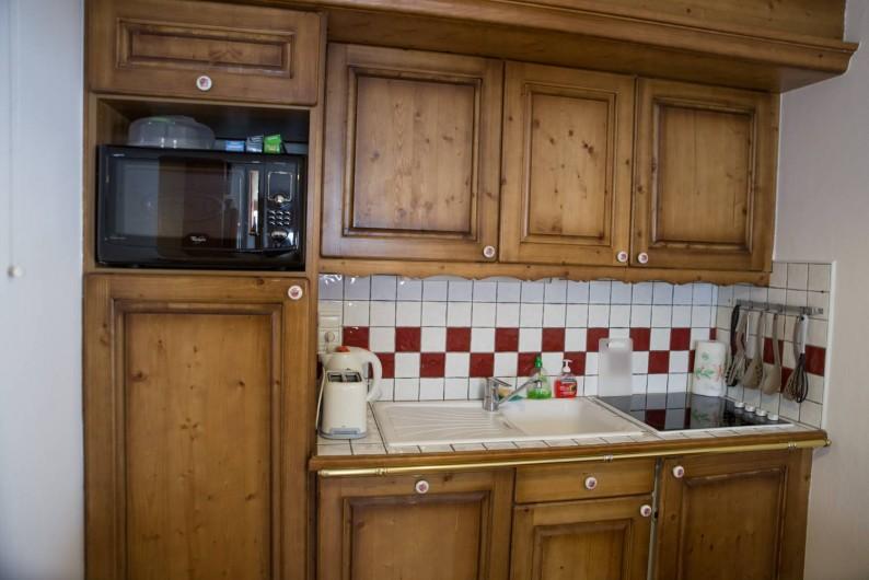 Location de vacances - Appartement à Les Carroz d'Arâches - cuisine