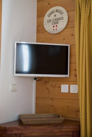 Location de vacances - Appartement à Les Carroz d'Arâches - téléviseur  lecteur dvd